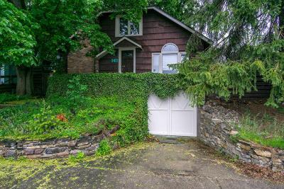Coeur D'alene Single Family Home For Sale: 1411 E Wallace Ave
