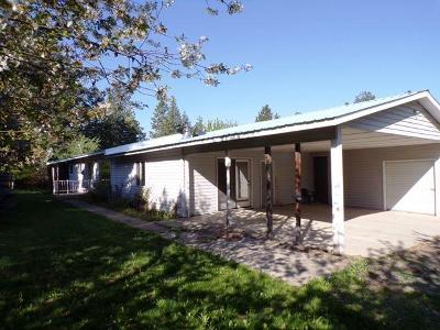 Bonners Ferry Single Family Home For Sale: 5878 Main St
