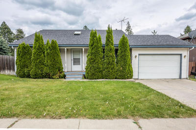 Coeur D'alene Single Family Home For Sale: 3294 N 10th Pl