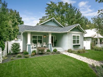 Coeur D'alene Single Family Home For Sale: 609 W Empire Ave