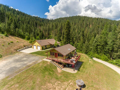 Coeur D'alene Single Family Home For Sale: 1703 S High Ranch Rd