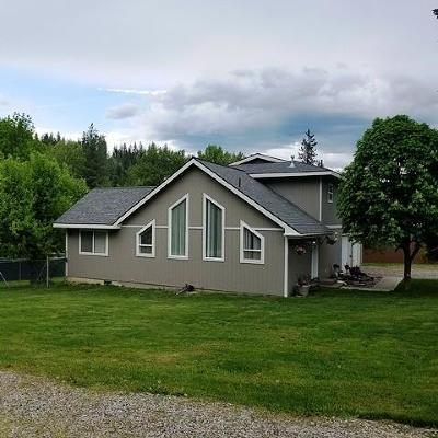 Shoshone County Single Family Home For Sale: 518 Hunt Gulch Rd