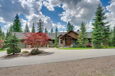 Coeur D'alene Single Family Home For Sale: 3028 S Espinazo Dr