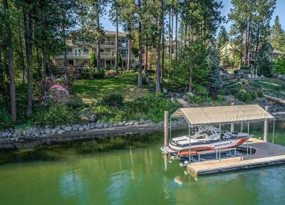 Post Falls Single Family Home For Sale: 1000 S Riverside Harbor Dr