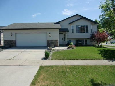 Post Falls Single Family Home For Sale: 2496 N Ivy Ln