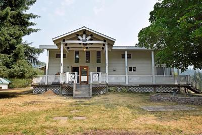 Sandpoint Single Family Home For Sale: 8190 Sunnyside Rd