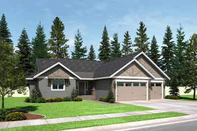 Coeur D'alene Single Family Home For Sale: 4473 N Chatterling Dr