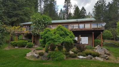 Sandpoint Single Family Home For Sale: 484 Carr Creek Rd