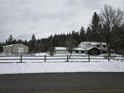 Rathdrum Single Family Home For Sale: 13612 N Church Rd