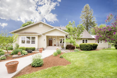 Sandpoint Single Family Home For Sale: 982 W Center Valley Rd