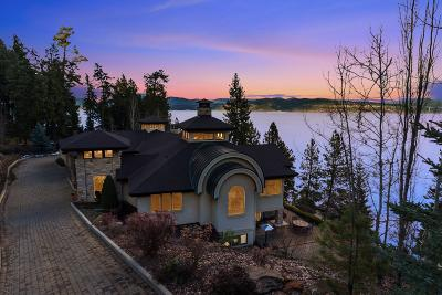 Coeur D'alene, Dalton Gardens Single Family Home For Sale: 4200 S Threemile Point Rd