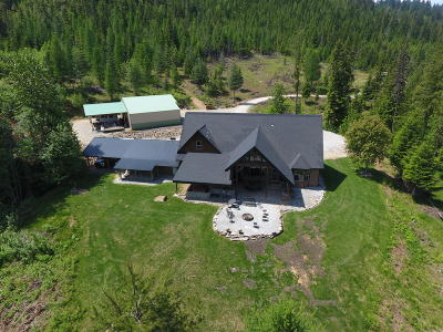 Shoshone County Single Family Home For Sale: 5575 Wapiti Lane