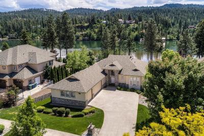 Kootenai County Single Family Home For Sale: 5639 E Shoreline Dr