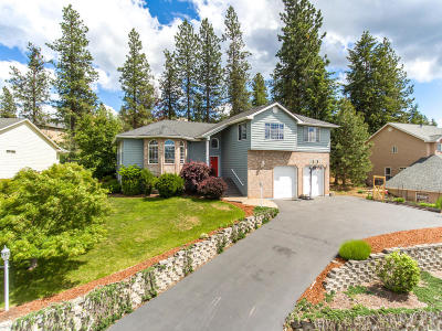 Coeur D'alene Single Family Home For Sale: 8224 N Westview Dr