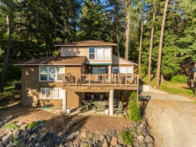 Harrison Single Family Home For Sale: 14256 E Sunset Shores Cir
