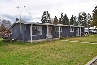 Bonners Ferry Multi Family Home For Sale: 6620 Monroe St