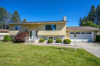 Coeur D'alene Single Family Home For Sale: 3637 W Hillcrest Dr