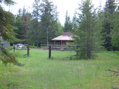 Bonners Ferry Single Family Home For Sale: 1360 Gillon Creek Rd