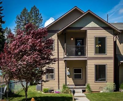 Coeur D'alene Condo/Townhouse For Sale: 505 S 19th St