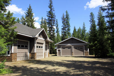 Priest Lake, Priest River Single Family Home For Sale: 183 Tracy Ln