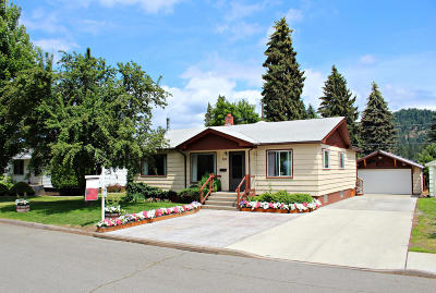 Coeur D'alene Single Family Home For Sale: 2020 N 6th Pl