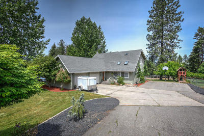 Coeur D'alene Single Family Home For Sale: 2281 E Lookout Dr