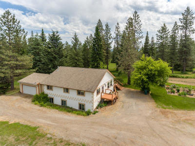 Rathdrum Single Family Home For Sale: 3170 W Diagonal Rd