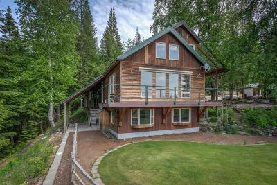 Sandpoint Single Family Home For Sale: 163 Cross Mountain Rd