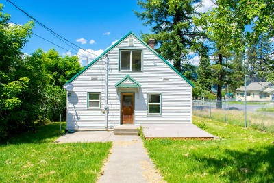 St. Maries Single Family Home For Sale: 1311 Main Avenue