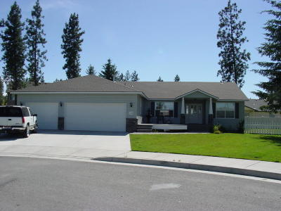 Coeur D'alene, Dalton Gardens Single Family Home For Sale: 7174 N Aaron St