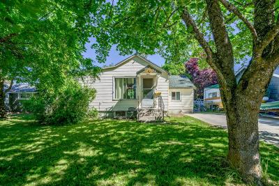 Coeur D'alene Single Family Home For Sale: 1415 E Birch Ave
