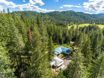 Coeur D'alene Single Family Home For Sale: 5348 S Stach Rd