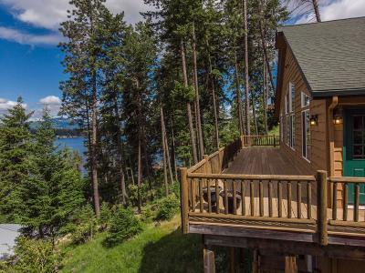 Hayden Single Family Home For Sale: 4285 E. Upper Hayden Lake Rd.
