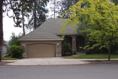 Coeur D'alene Single Family Home For Sale: 3874 N Palmer Dr
