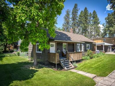 Coeur D'alene Single Family Home For Sale: 421 S 11th St