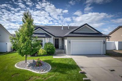 Coeur D'alene Single Family Home For Sale: 3444 W Parda Dr