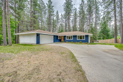 Coeur D'alene Single Family Home For Sale: 3609 W Pineridge Dr