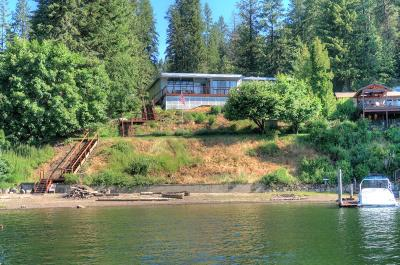 Coeur D'alene Single Family Home For Sale: 18324 S University Point Rd