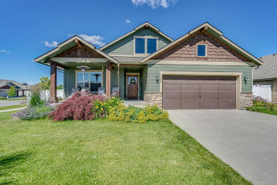 Coeur D'alene Single Family Home For Sale: 7796 N Goodwater Loop