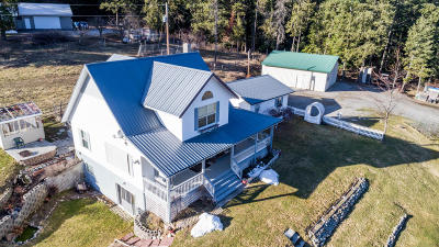 Coeur D'alene Single Family Home For Sale: 7196 S Greensferry Rd