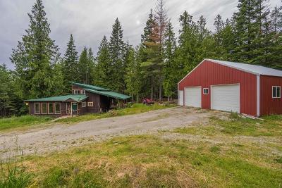 Sandpoint Single Family Home For Sale: 551 Flume Creek Rd