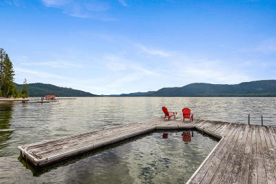 Priest Lake, Priest River Single Family Home For Sale: 272 S Sandy Shores Ln