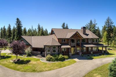Coeur D'alene Single Family Home For Sale: 4629 S Greenfield Ln