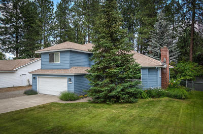 Coeur D'alene Single Family Home For Sale: 6308 N Pinegrove Dr