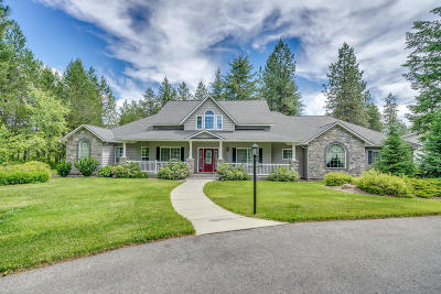 Rathdrum Single Family Home For Sale: 2238 W Chrisshan Ct