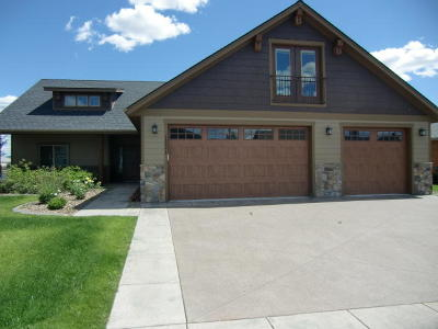 Rathdrum Single Family Home For Sale: 13661 N Pristine Cir
