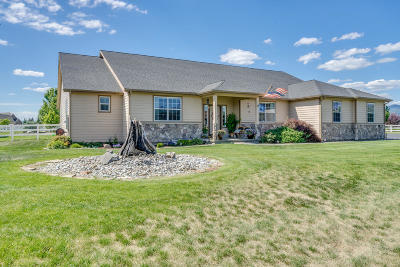Post Falls Single Family Home For Sale: 1932 W Staples Rd