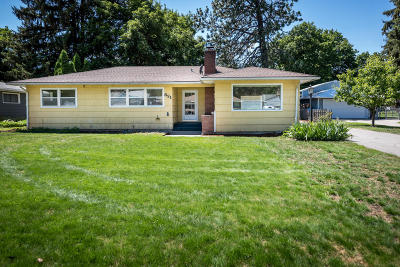 Coeur D'alene Single Family Home For Sale: 621 N 20th St