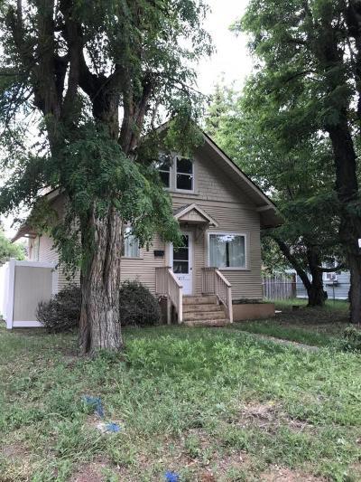 Coeur D'alene Single Family Home For Sale: 1217 E Pennsylvania Ave