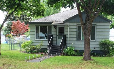 Coeur D'alene Single Family Home For Sale: 1314 N A St